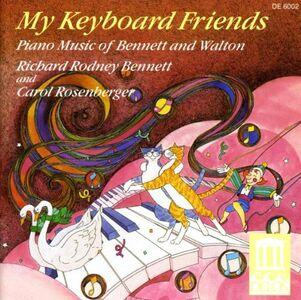 CD My Keyboard Friends William Walton , Richard Rodney Bennett