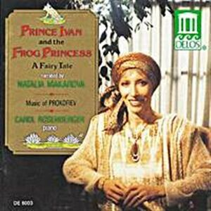 CD Prince Ivan and the Frog Princess - Music for Children Op.65 di Sergei Sergeevic Prokofiev