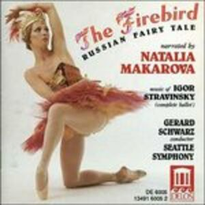 CD The Firebird, Russian Fairy Tale di Igor Stravinsky