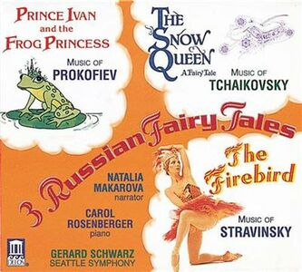 CD Three Russian Fairy Tales. Prince Ivan and the Frog Princess di Sergei Sergeevic Prokofiev