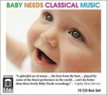 Baby Needs Classical Musical - CD Audio