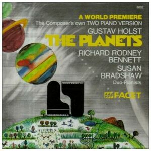 CD The Planets Gustav Holst , Richard Rodney Bennett