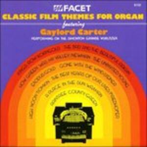 Classic Film Themes for Organ - CD Audio