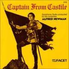 Captain Form Castle - CD Audio di Alfred Newman