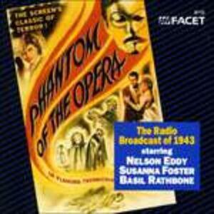 CD Phantom of the Opera 1943 (Colonna Sonora)