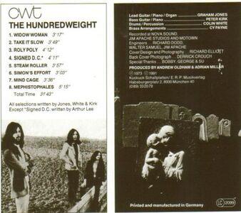 CD Hundredweight di CWT 1