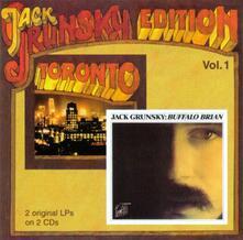 Toronto.buffalo Brian - CD Audio di Jack Grunsky