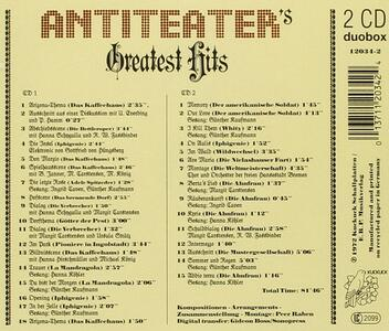Antiteater's Greatest Hits - CD Audio di Antiteater