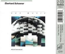 Meditation.sky Music - CD Audio di Eberhard Schoener