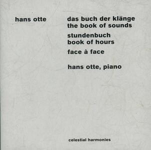 Book of Sounds - Book of ho - CD Audio di Hans Otte