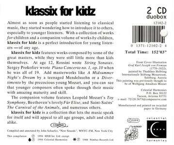 Klassix for Kidz - CD Audio