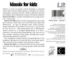 Klassix for Kidz - CD Audio