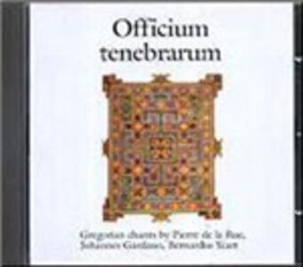 Officium Tenebrarum - CD Audio