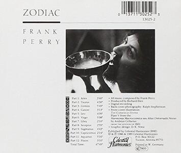 Zodiac - CD Audio di Frank Perry - 2