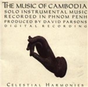 Music of Cambodia. Solo Instrumental Music - CD Audio
