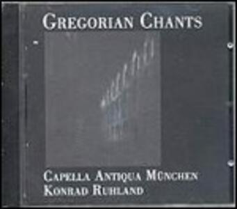 Gregorian Chants - CD Audio di Capella Antiqua München,Konrad Ruhland