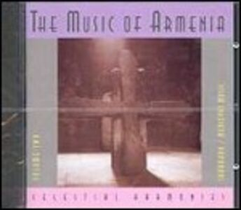 CD Music of Armenia 2. Sharakan - Medieval Music