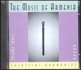 CD Music of Armenia 3. Duduk