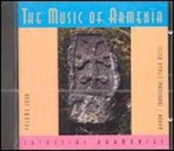 Music of Armenia 4. Kanon - Traditional Zither Music - CD Audio