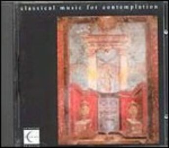 CD Classical Music for Contemplation