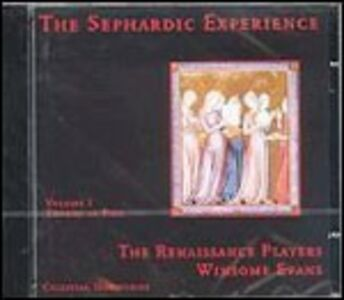 CD Sephardic Experience 1 - Thorns of Fire di Renaissance Players
