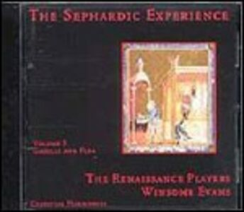 CD Sephardic Experience 3 - Gazelle and Flea di Renaissance Players
