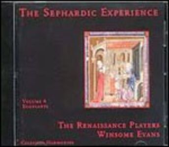 CD Sephardic Experience 4 - Eggplants di Renaissance Players