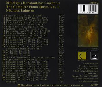 Mikalojus Konstantinas - CD Audio di Nikolaus Lahusen - 2