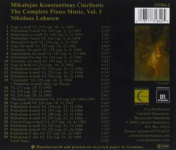 CD Mikalojus Konstantinas di Nikolaus Lahusen 1