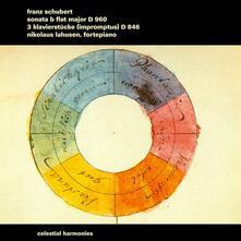 Schubert Sonata D 960 - CD Audio di Nikolaus Lahusen
