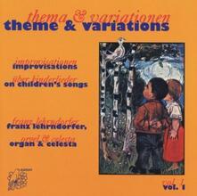 Themes and Variations 1 - CD Audio di Franz Lehrndorfer