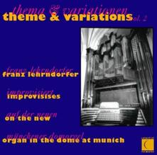 Themes and Variations 2 - CD Audio di Franz Lehrndorfer