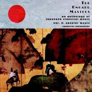 Secular Music - CD Audio di Ongaku Masters