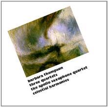 Three Quartets - CD Audio di Barbara Thompson