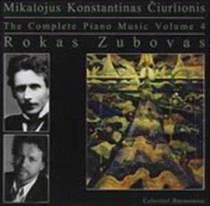 CD Complete Piano Music di Rokas Zubovas