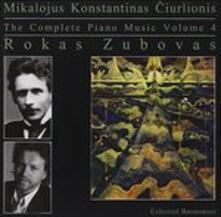 Complete Piano Music - CD Audio di Rokas Zubovas