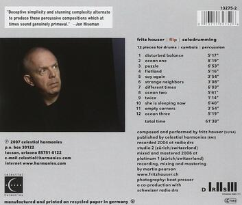12 Pieces for Drums, Cymb - CD Audio di Fritz Hauser - 2