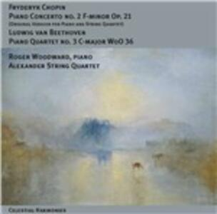 Concerto per pianoforte n.2 / Quartetto con pianoforte n.3 - CD Audio di Ludwig van Beethoven,Fryderyk Franciszek Chopin,Roger Woodward