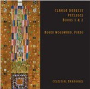 Foto Cover di Preludi libri I e II, CD di Claude Debussy,Roger Woodward, prodotto da Celestial Harmonies
