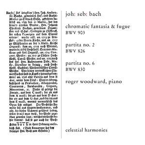 Cromatic Fantasia & Fugue - CD Audio di Johann Sebastian Bach - 2