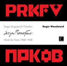 Musica per pianoforte 1908 - CD Audio di Sergej Sergeevic Prokofiev,Roger Woodward