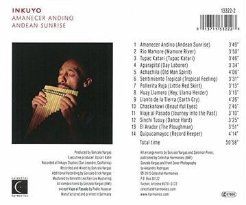 Amanecer Andino - CD Audio di Inkuyo - 2