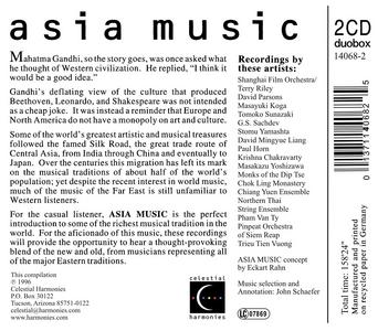 CD Asia Music  1