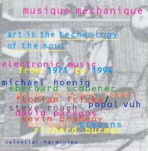 CD Musique Mechanique