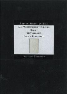 Il clavicembalo ben temperato libro I - CD Audio di Johann Sebastian Bach,Roger Woodward