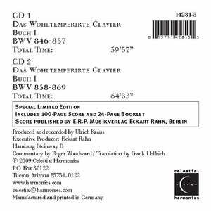 CD Well Tempered Clavier di Roger Woodward 1