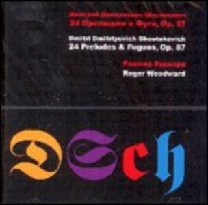Foto Cover di 24 Preludes & Fugues, CD di Dmitri Shostakovich,Roger Woodward, prodotto da Celestial Harmonies