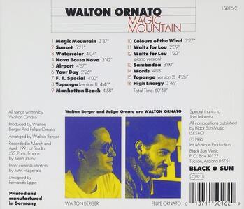Magic Mountain - CD Audio di Walton Ornato - 2