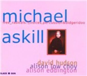CD Free Radicals di Michael Askill