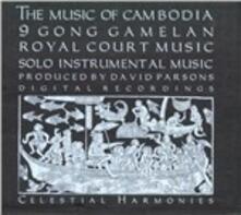 Music of Cambodia - CD Audio